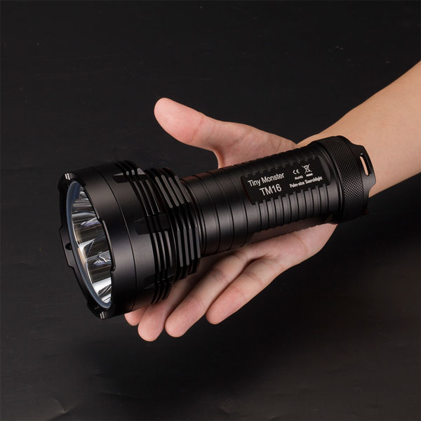 New Nitecore TM16 Powerful Led Flashlight Cree XM-L2 4000 Lumens 5 Mode 4* 18650 Compact Handheld Outdoor Searchlight