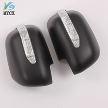 2005-2014 Car Side Mirror Cover ABS Rear View With Indicator For Toyota Hilux Vigo Parts