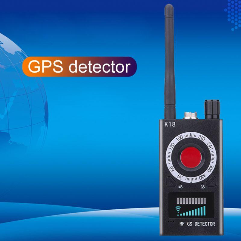 1 MHz-6.5 GHz K18 Anti espion RF détecteur caméra sans fil Bug détecter GSM dispositif d'écoute détecteur Radar Radio Scanner