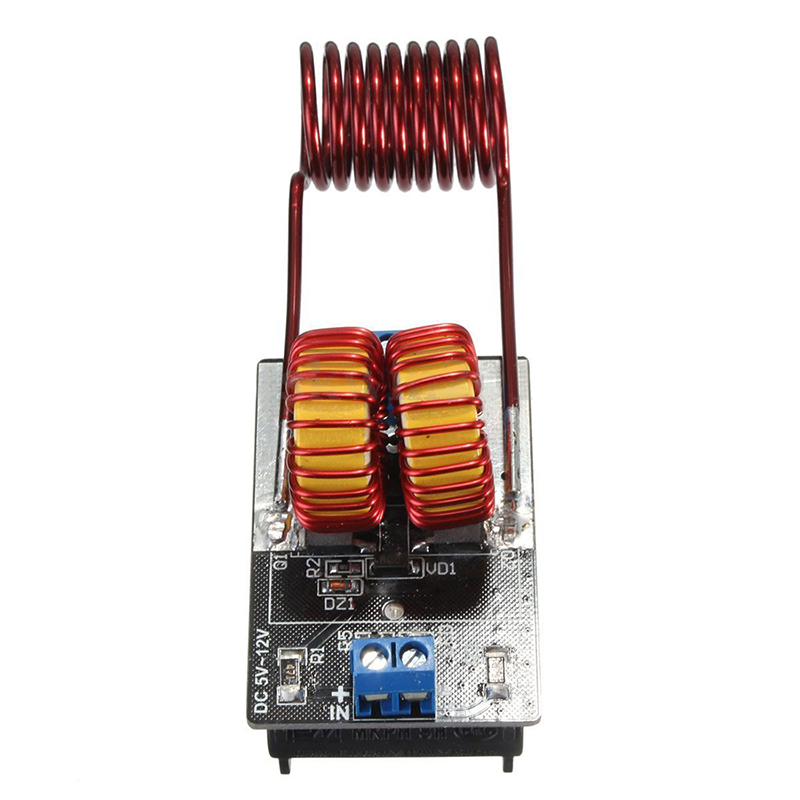 Image 3 - 5v 12v ZVS Induction Heating Power Supply Driver Board Module + Coil-in Power Supplys from Consumer Electronics
