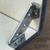 1 pc 스테인레스 스틸 코드 90도 직각 두꺼운 고정 판자 조인트 삼각대 하드웨어 액세서리 도구 홈