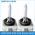 Hot-selling 2 pcs D3S HID XENON Bulbs 3000K 4300K  6000K 8000K 10000K 12000K 15000K AUTO Headlight 12v 35w 55W