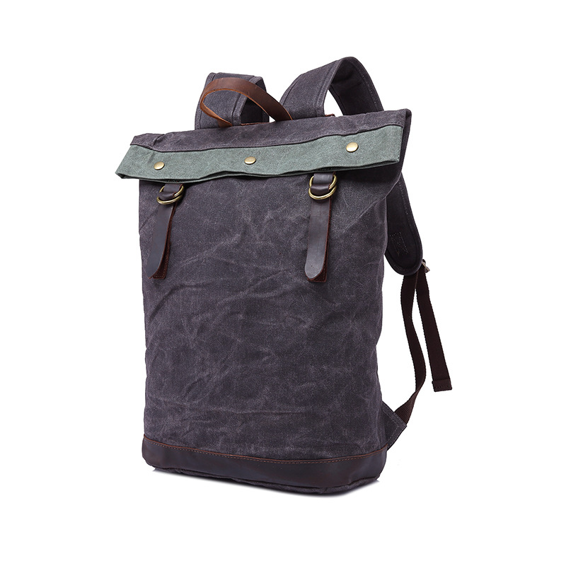 Vintage Real Canvas Bags Multi-functional Backpack Boy Girl Students Computer Wind Tide Shoulder Bag Brand Sindermore  цены
