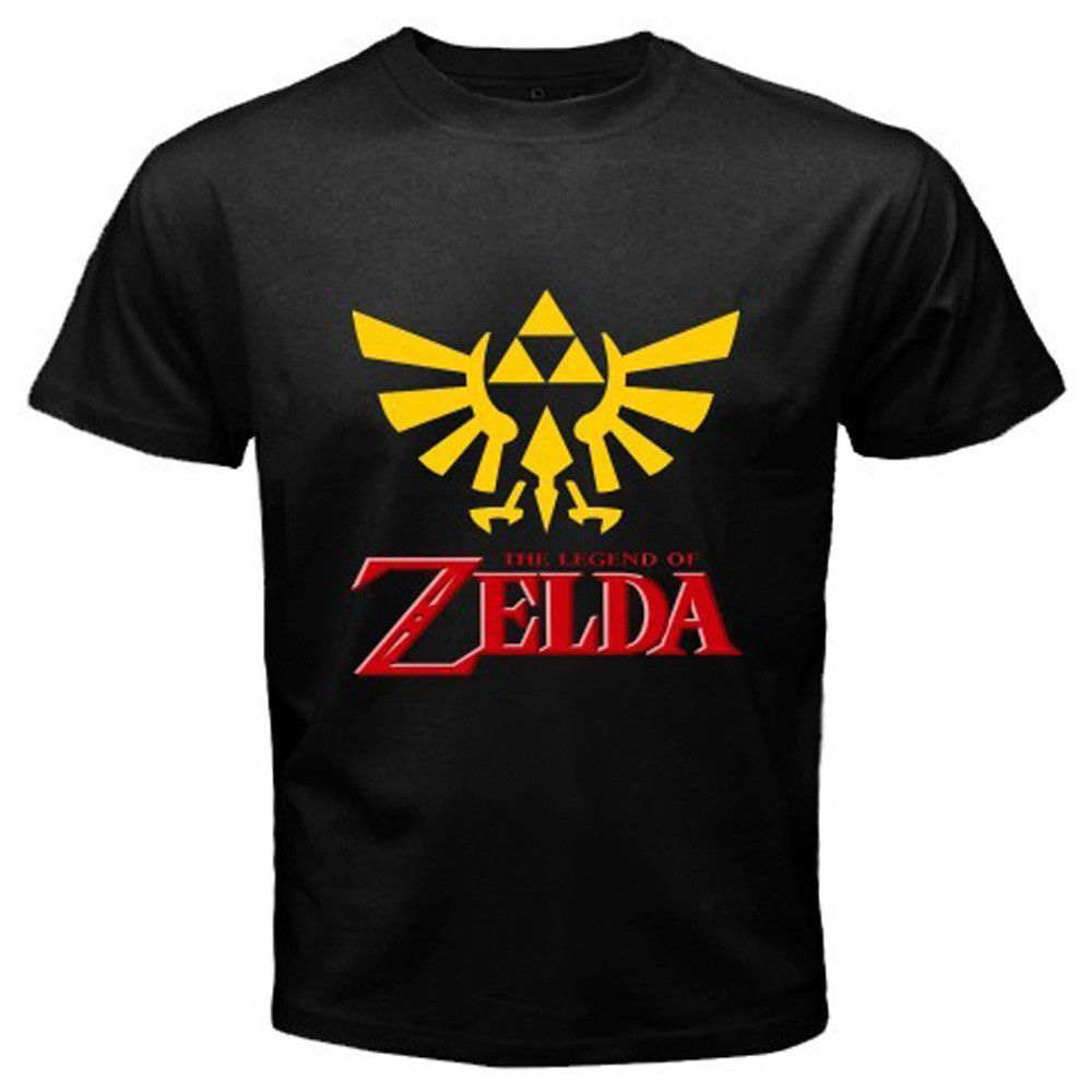 The Legend of Zelda Logo Famous Video Game T-Shirt ...