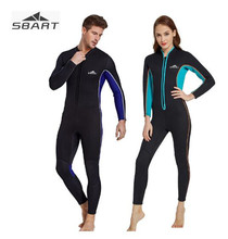 SBART 3MM Neoprene Wetsuits Women Men's Scuba Diving Spearfishing Wet Suits One-Piece Keep Warm Scuba Snorkeling Diving Wetsuits sbart women full body scuba dive wet suit 3mm neoprene wetsuits winter swim surfing snorkeling spearfishing water swimsuit