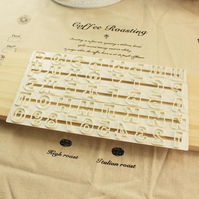 Russian Alphabet Letter Plastic Cutter