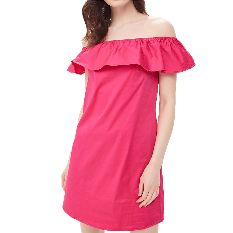 Dresses MODIS M181W00718 women dress cotton  clothes apparel casual for female TmallFS alluring scoop neck ruched asymmetrical backless women s dress