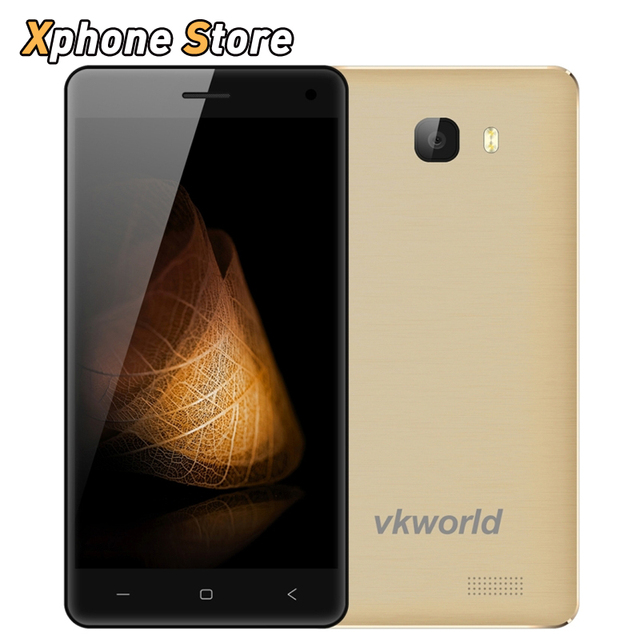 Original VKworld T5 Android 5.1 5.0 inch 3G WCDMA 16GB ROM 2GB RAM Smartphone MTK6580 Quad Core 1.3GHz Dual SIM Cellphone