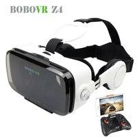 Hot 2016 Google Cardboard BOBOVR Z4 Virtual Reality Goggles Immersive BOBOVR Z3 Upgraded Z4 VR BOX