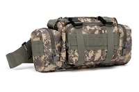 Marines outdoor Tactical bag camouflage pocket multi-function waterproof fishing rod bag shoulder bag backpack First Aid Toolkit