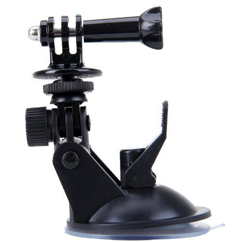 Just Now Suction Cup Car Use + 7Cm Diameter Base Mount for GoPro Hero 6/5/4/3+/3 for SJCAM For Yi Action Camera Accessories