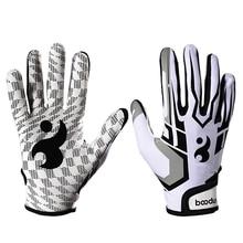 Ватин перчатки унисекс Бейсбол Софтбол ватин перчатки противоскользящие ватин перчатки для взрослых красный/белый Спортивные Перчатки