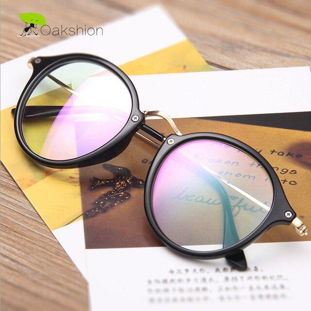 Moda ronda Gafas Marcos mujeres ojo Gafas vintage círculo lente ojos ...