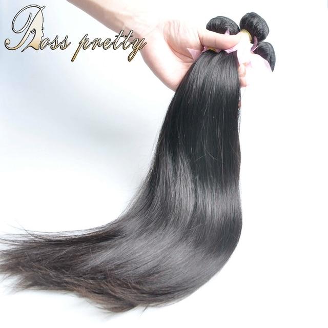 Ross Pretty Hair bundles Quality peruvian virgin hair straight 3pcs peruvian straight virgin hair weave Wholesale Price Sale