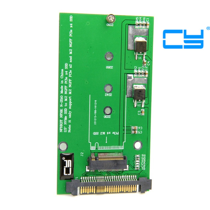 5pcs/SFF-8639 NVME U.2 to NGFF M.2 M-key PCIe SSD Adapter for Mainboard Replace Intel SSD 750 p3700 p3600 ssd add on cards 2 5 enclosure adapter u 2 sff 8639 to m 2 pci e i f with cable ngff convert card