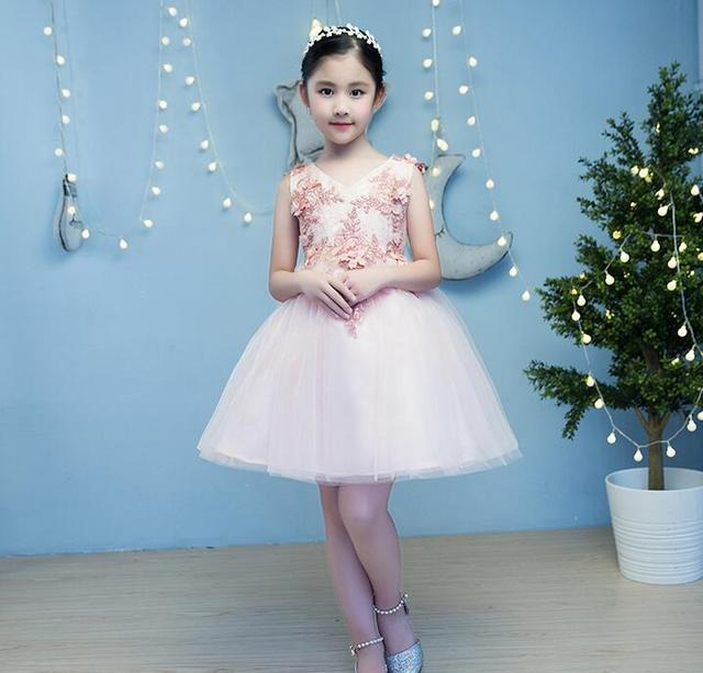 High Quality New Flower Girl Party Pageant Princess Wedding Dress ...