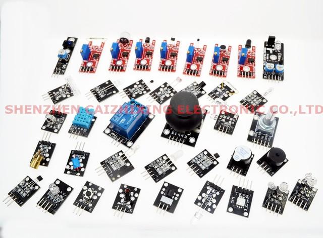 37 em 1 KITS SENSOR para Arduino alta qualidade frete grátis ( funciona com oficiais para Arduino placas )