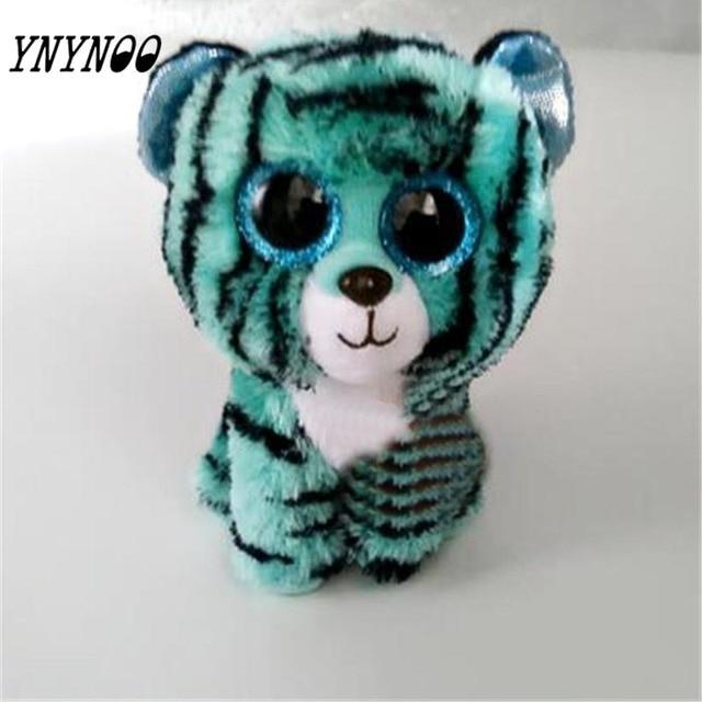 eb4e9e1fac1 (YNYNOO)Ty Beanie Boos Kids Plush Toys Big Eyes Leona Blue Leopard Lovely  Children s Christmas Gifts Kawaii Cute Stuffed Animals