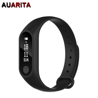 Smart Wristband M2 Smart Bracelet Heart Rate Monitor Pedometer Waterproof Bluetooth For iOS Android OLED for Fitness Tracker