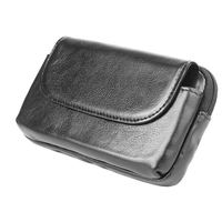 Belt Clip Genuine Cow Leather Cell Phone Case Pouch For LG U V30 X Venture K10