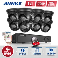 ANNKE 8CH 1080P HDMI CCTV System With 1TB HDD 8 1200TVL 1 0MP CCTV Security Cameras