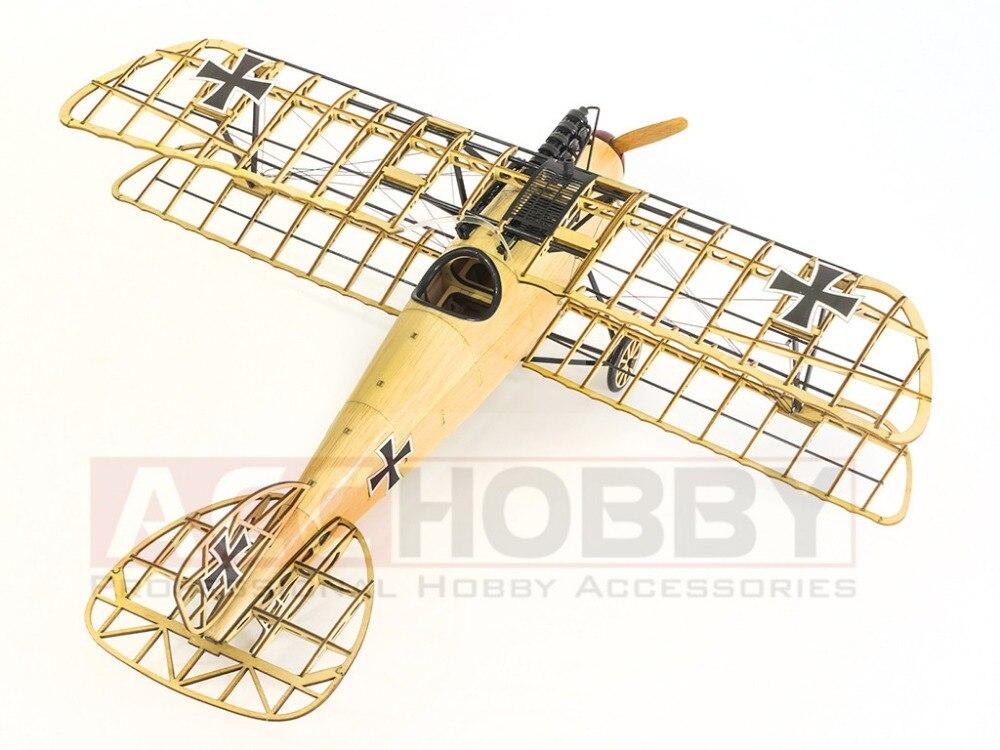 Envío gratis modelo estático, modelos de avión, Albatros D.III - Juguetes de construcción - foto 3