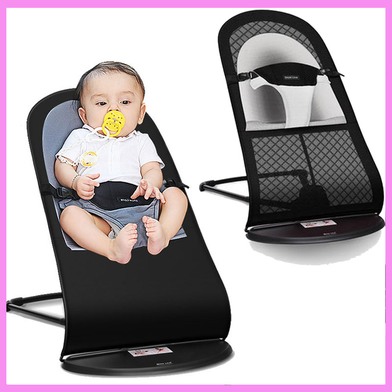 High Quality Portable Newborn Infant Folding Novelty Swing Rocking Chair for Baby Lounge Recliner Children Cradle Swing 0~3 Y mutifunctional portable adjustable infant baby swing rocking chair for newborn cradle lounge recliner recliner baby toys