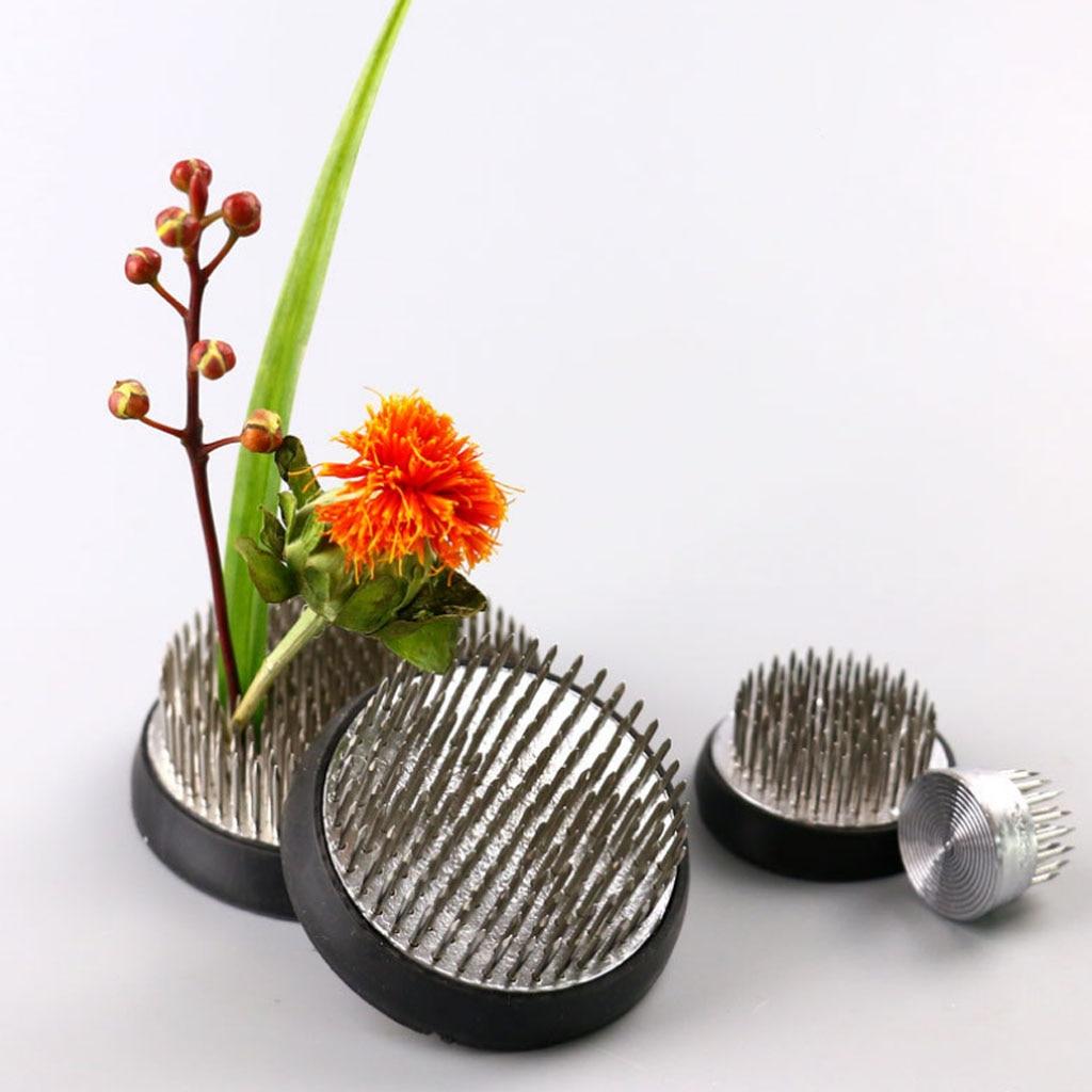 Круглый икебана кензан Цветок Лягушка аранжировщик держатель украшение стола дома