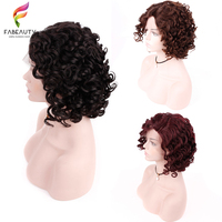 Mongolian Curly Lace Frontal Wig With Baby Hair Pre Plucked Natural Hairline Lace Curly Wigs For Women Black Natural Remy Hair