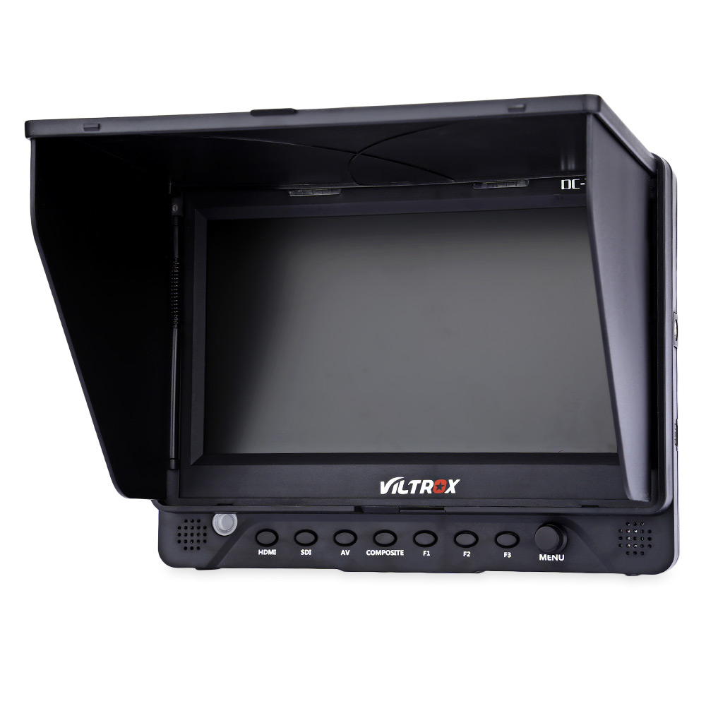 VILTROX DC - 70EX Professional 7 inch HDMI Image Monitor TFT LCD Monito With HDMI SDI And AV ports 1024 x 600 Image resolution ebsd image