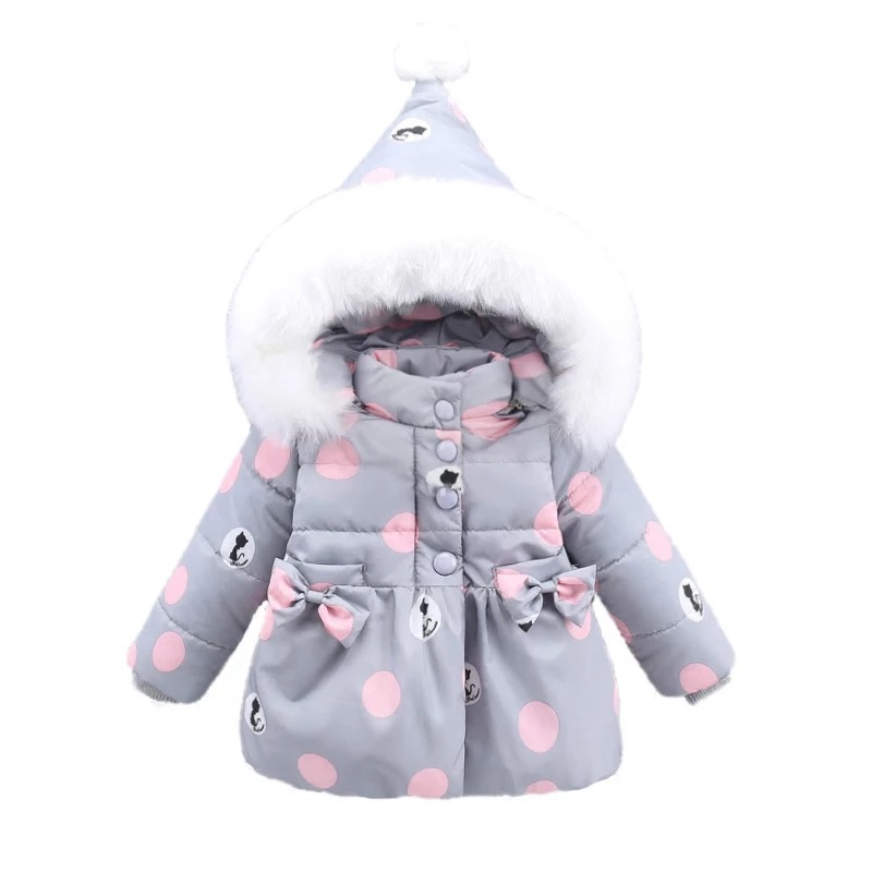 Down Coat Hooded Jackets For Newborns Baby Warm Clothing Atutmn Winter Child  Coats Outerwear Cartoon Jacket 3T-6T girl jackets coat for winter baby girl down