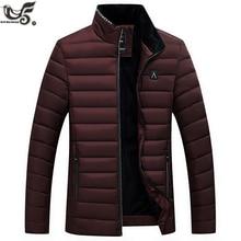 Winter Jacket Men Fashion cotton-padded down Jacket Mens slim fit Jack