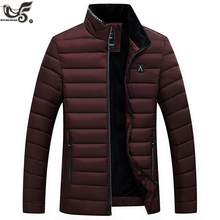Winter Jacket Men Fashion cotton-padded down Jacket Mens slim fit Jackets and