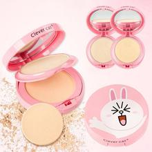 1Pc Professional Face Concealer Makeup Pressed Powder Cake Face Base Foundation Setting Skin Finishing Cosmetic Powder Y1-5