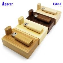 Apacer wood usb flash drive16gb 32gb penddrive 4GB gadget pen drive usb 3.0 LOGO usb