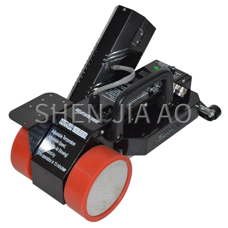 Machine de soudure de bannière de PVC de câble de 1 pc pour la soudeuse commune de bâche de bannière/machine chaude de sort/soudeuse automatique d'air chaud 220 V/110 V