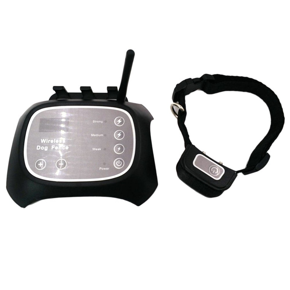Wireless Dog Fence Pet Containment System Dog Fencing with Rechargeable Waterproof Receiver for Dog Safe Training