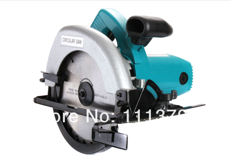 Electric circular saw 7-inch electric saws wood cutting machine, wood saws portable electric saws worx 20v circular saw household desktop dual use wood metal pvc brick hand saws with 1 battery