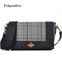Luxury Brand Crossbody Bags Diamond Lattice Women Bag Famous Bee Logo Designer Handbags High Quality Ladies