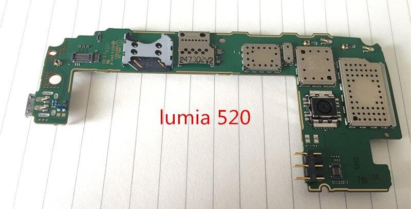 International language!~Original Motherboard For lumia 520 Mainboard Board Free shipping