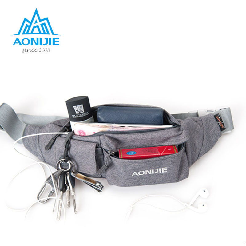 Sports & Entertainment Aonijie Running Mini Waist Wallet Purse Ultra-thin Waterproof Outdoor Cycling Sports Travel Personal Security Body Bag