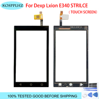 Touch Screen For DEXP Ixion E340 Strike touch Digitizer Front Glass Sensor Replacement mobile phone +tools