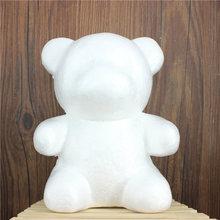 1 pcs 160mm Modelling Polystyrene Styrofoam Foam bear White Craft Balls For DIY Christmas Party Decoration