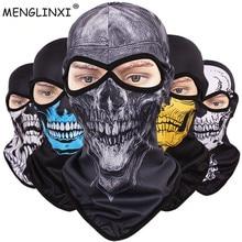 Ветрозащитная маска для лица, шарф, дизайн, Балаклавы для велосипеда с черепом, маска для лица, маска для езды на велосипеде и мотоцикле