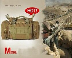 MOLLE Taktische Tasche 3 P Leinwand Molle Gebrauchs Sport Wandern Military Duffle Taktische Tasche Rucksack kameratasche