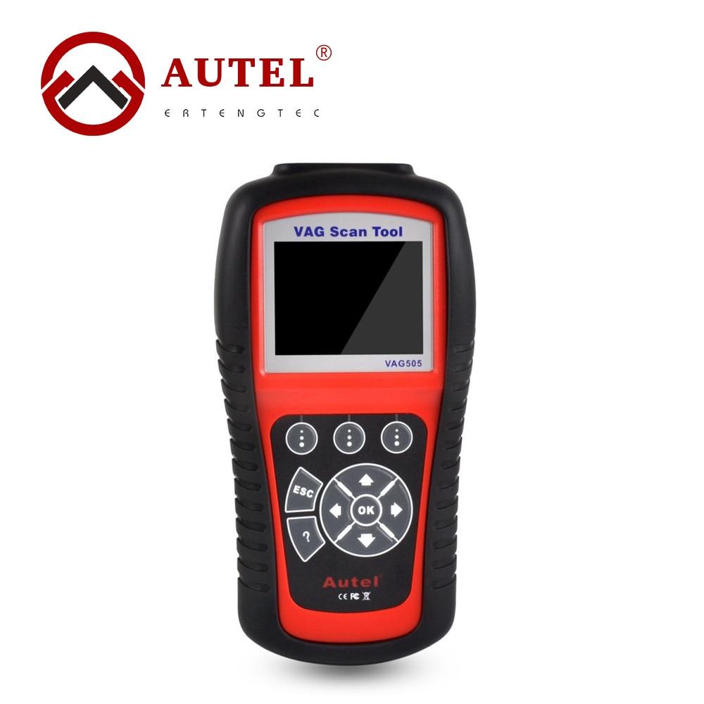 Цена за Autel MaxiService VAG505 OBD2 OBDII Диагностический Инструмент OBDII VAG 505 Коды Неисправностей Code Reader & Clean Очиститель