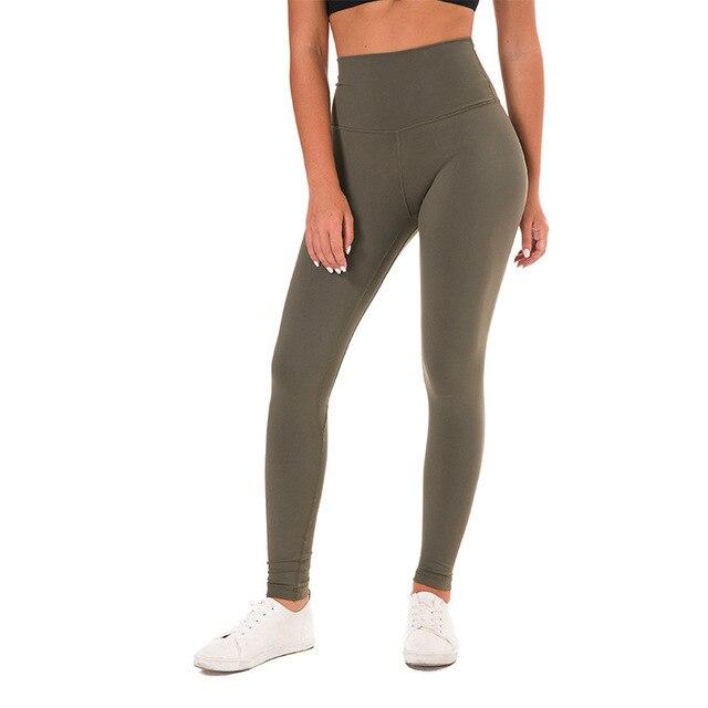 Ghette di Yoga Push Up Lulu Pantaloni di Yoga Leggings di Sport Delle Donne di Fitness Calzamaglie con Tasca Femme di Alta Vita Legins Joga Dropshipping 4