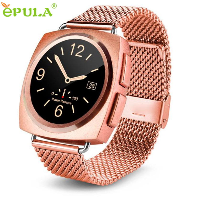 цена на 2017 New Luxury Waterproof A11 Bluetooth Heart Rate Smart Wrist Watch For Android IOS Phone Montres intelligents polsino