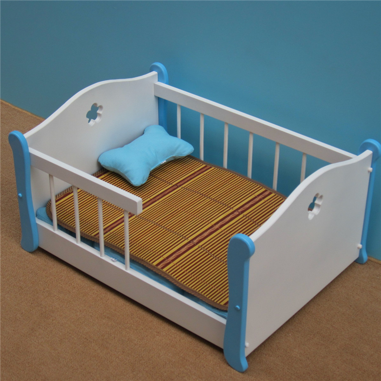 2016 new arrival dog wood bed cama para cachorro soft dog for Dog room furniture