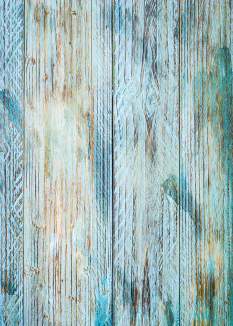 Blue Vintage Rustic Old Natural Real Hard Wood Backgrounds
